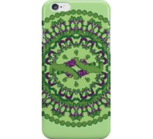 Green punch iPhone Case/Skin