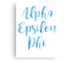 Alpha Epsilon Pi Canvas Print