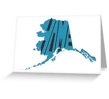 Alaska HOME state design Greeting Card