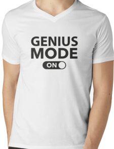 Genius Mode On Mens V-Neck T-Shirt