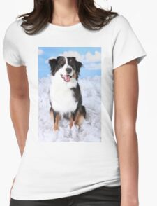 All Dogs goes to Heaven Womens Fitted T-Shirt