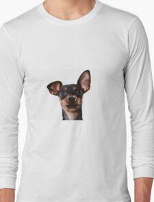 Surprised Dog Long Sleeve T-Shirt