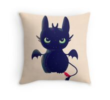 Night Fury Throw Pillow