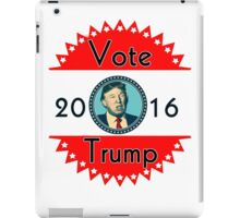 2016 US Elections Vote for Trump iPad Case/Skin