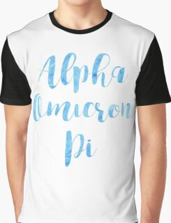 Alpha Omicron Pi Graphic T-Shirt