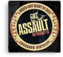 Assault on Precinct 13 Vintage Canvas Print