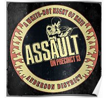 Assault on Precinct 13 Vintage Poster