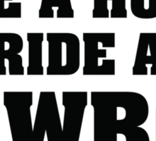 Save A Horse Ride A Cowboy Sticker