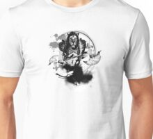 Ajani Goldmane in Black Unisex T-Shirt