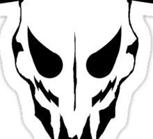 Luchador Bull Skull Sticker