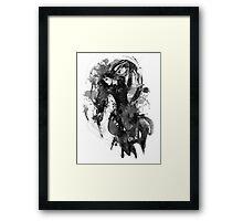 Chandra Nalaar in Black Framed Print