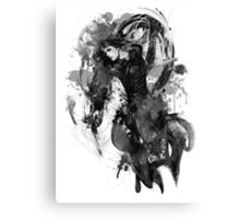 Chandra Nalaar in Black Canvas Print