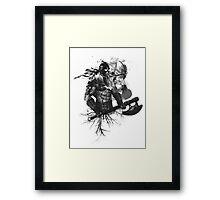 Garruk Wildspeaker in Black Framed Print