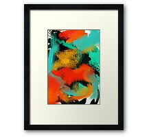 Dance with the Sea 2 Framed Print