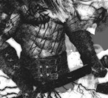 Garruk Wildspeaker in Black Sticker