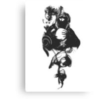 Jace Beleren in Black Canvas Print
