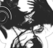 Jace Beleren in Black Sticker