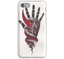 Original Watercolor Handprint iPhone Case/Skin