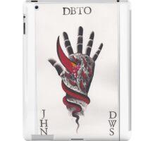 Original Watercolor Handprint iPad Case/Skin