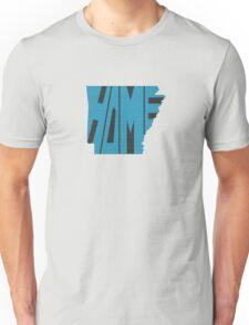 Arkansas HOME state design Unisex T-Shirt