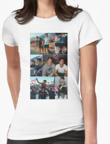Dolan Twins collage 5  Womens Fitted T-Shirt