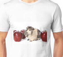 Guinea Pig Love Apples Unisex T-Shirt