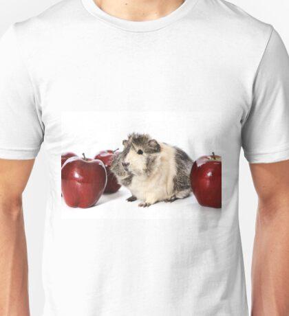 Guinea Pig Love Apples Unisex T-Shirt