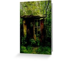 Abandoned Hideaway Greeting Card