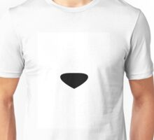 Polar Bear With it's Eyes Closed in a Snowstorm  Unisex T-Shirt