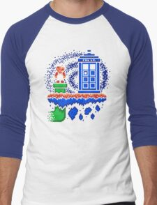 WELCOME TO THE WARP ZONE Men's Baseball ¾ T-Shirt