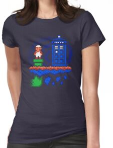 WELCOME TO THE WARP ZONE Womens Fitted T-Shirt
