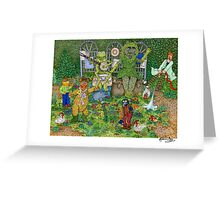 The Muppets Garden Greeting Card