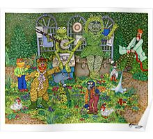 The Muppets Garden Poster