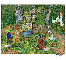 The Muppets Garden Photographic Print