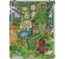 The Muppets Garden iPad Case/Skin