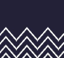 Beautiful Aztec / Islandic Inspired Luxury dark blue Folk Collection 2016 Sticker