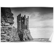 Keiss Castle, Keiss, Caithness, Scotland Poster