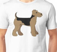 Airedale Terrier Unisex T-Shirt