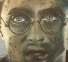 Harry Potter Oil Painting Sticker