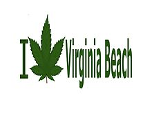 I Love Virginia Beach by Ganjastan