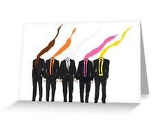 Why can't we pick our own colors? Greeting Card