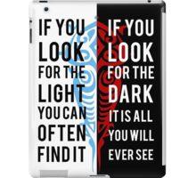 Light in the Dark iPad Case/Skin