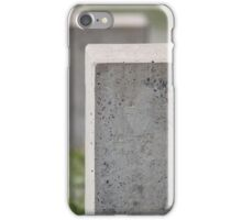 gravestone unknown soldier iPhone Case/Skin