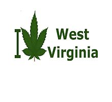I Love West Virginia by Ganjastan