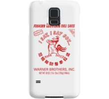 Foghorn Leghorn Sauce (Red) Samsung Galaxy Case/Skin