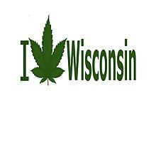 I Love Wisconsin by Ganjastan