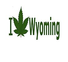 I Love Wyoming by Ganjastan