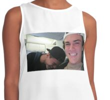 Dolan Twins laughing Contrast Tank