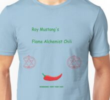 Roy Mustang's Flame Alchemist Chili Unisex T-Shirt