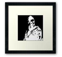 Deus ex (white) Framed Print